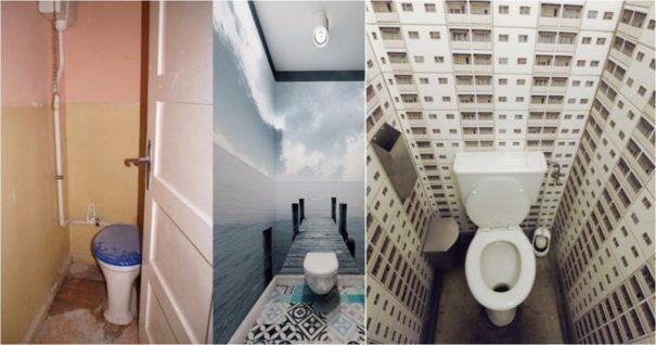 最让人脑洞大开的卫生间设计插图