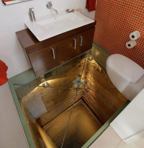 最让人脑洞大开的卫生间设计插图(2)