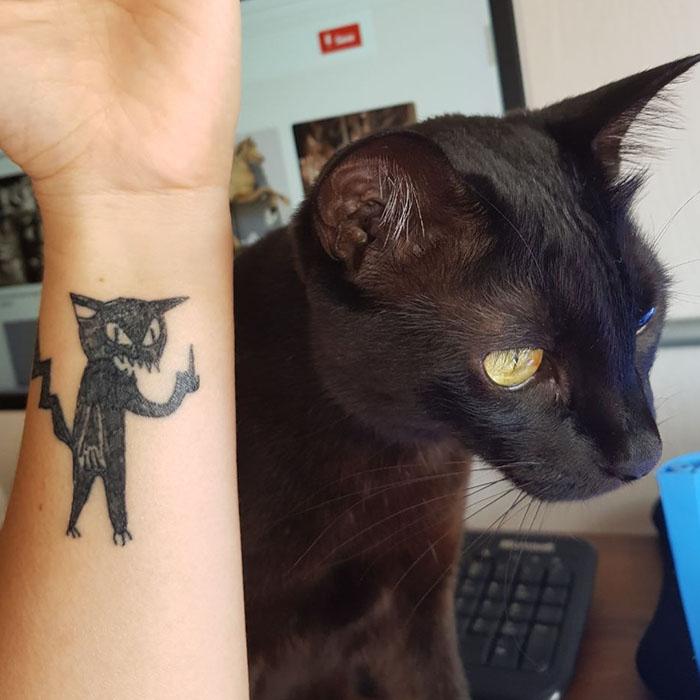 这位纹身艺术家没有高超的绘画技巧,但这也是她的客户选择她的原因插图(2)