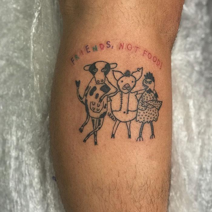 这位纹身艺术家没有高超的绘画技巧,但这也是她的客户选择她的原因插图(17)