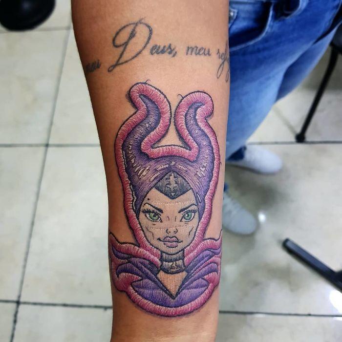刺绣纹身插图(22)