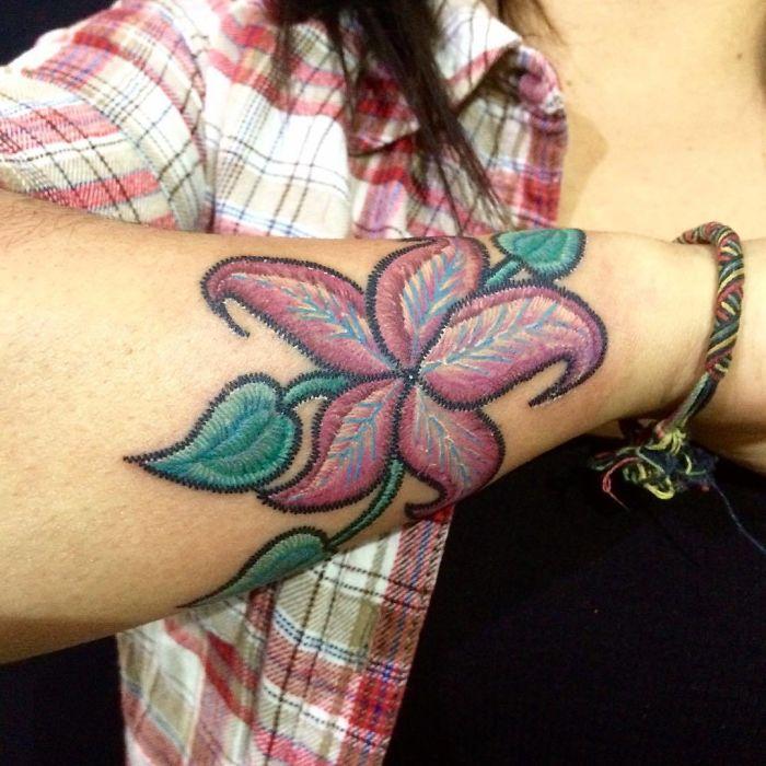刺绣纹身插图(28)