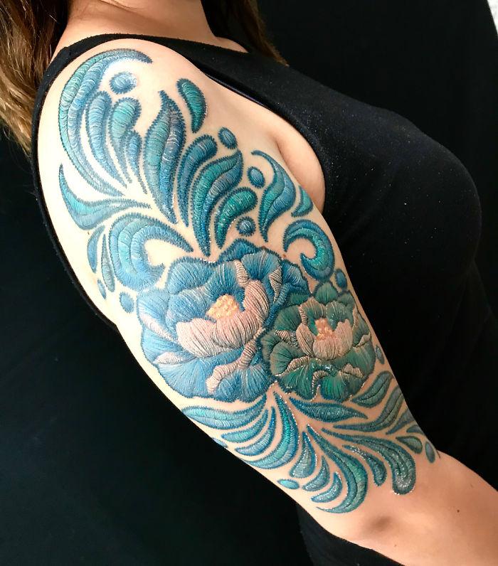 刺绣纹身插图(11)