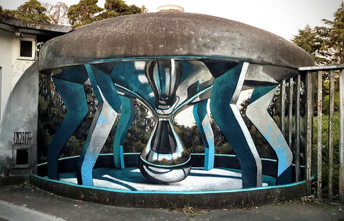 葡萄牙涂鸦艺术家的惊人3D绘画之作插图(21)