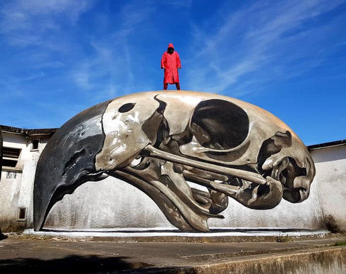 葡萄牙涂鸦艺术家的惊人3D绘画之作插图(28)