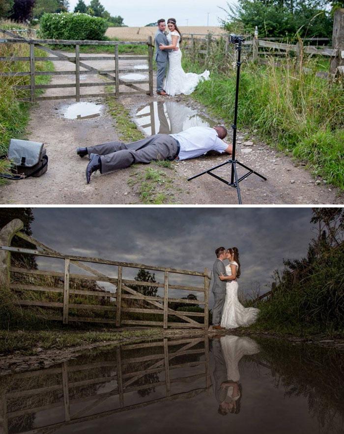完美的婚纱摄影照背后必然有一支强大的幕后团队插图