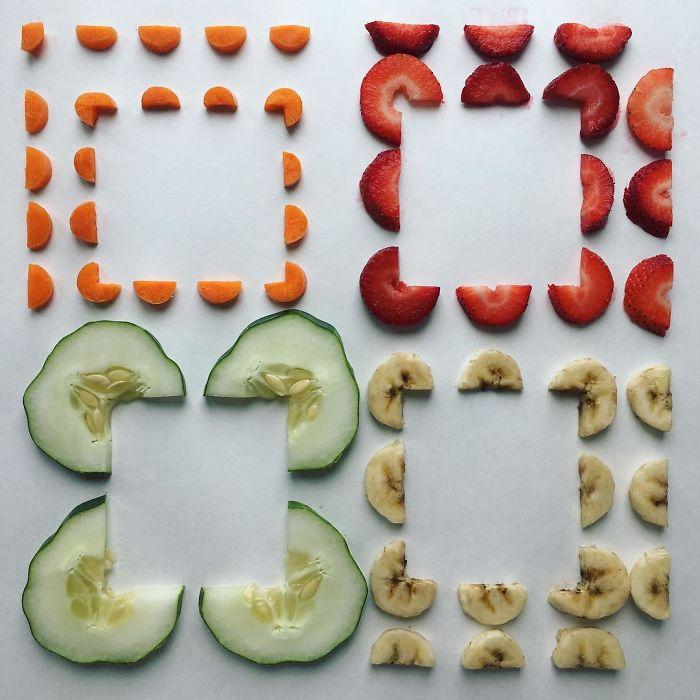 食品的空间罗列艺术插图1