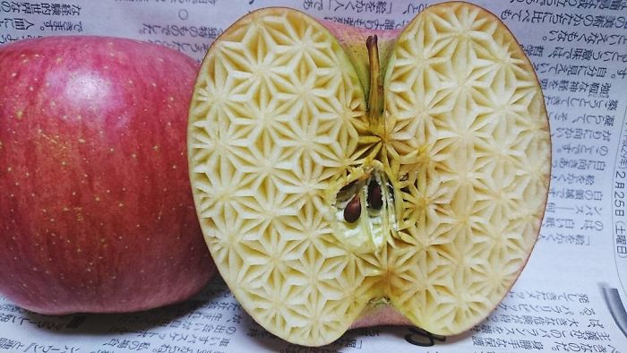 日本艺术家的食雕作品插图(11)