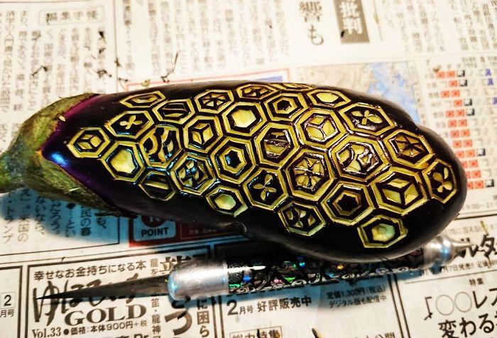 日本艺术家的食雕作品插图6