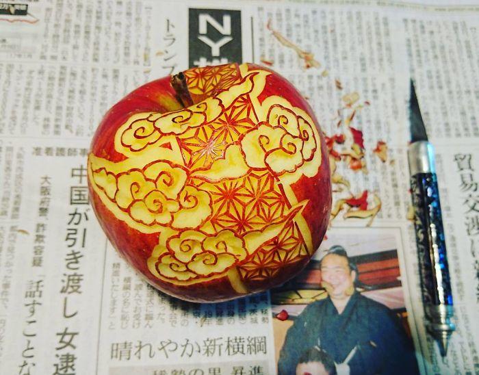 日本艺术家的食雕作品插图(4)