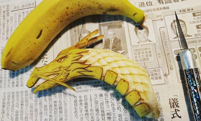 日本艺术家的食雕作品插图(19)