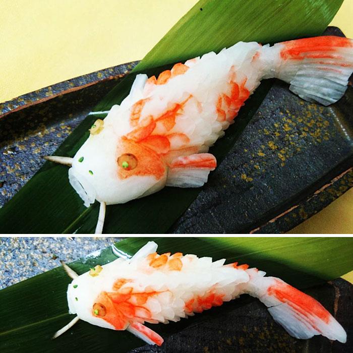 日本艺术家的食雕作品插图(15)
