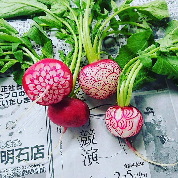 日本艺术家的食雕作品插图14