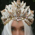 用真正的贝壳制作的美人鱼皇冠缩略图