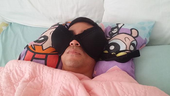 销魂的睡姿插图(7)
