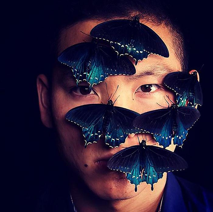 生物学家在自家后院使一种珍稀蝴蝶物种再次繁衍(文内有毛毛虫的图片)插图