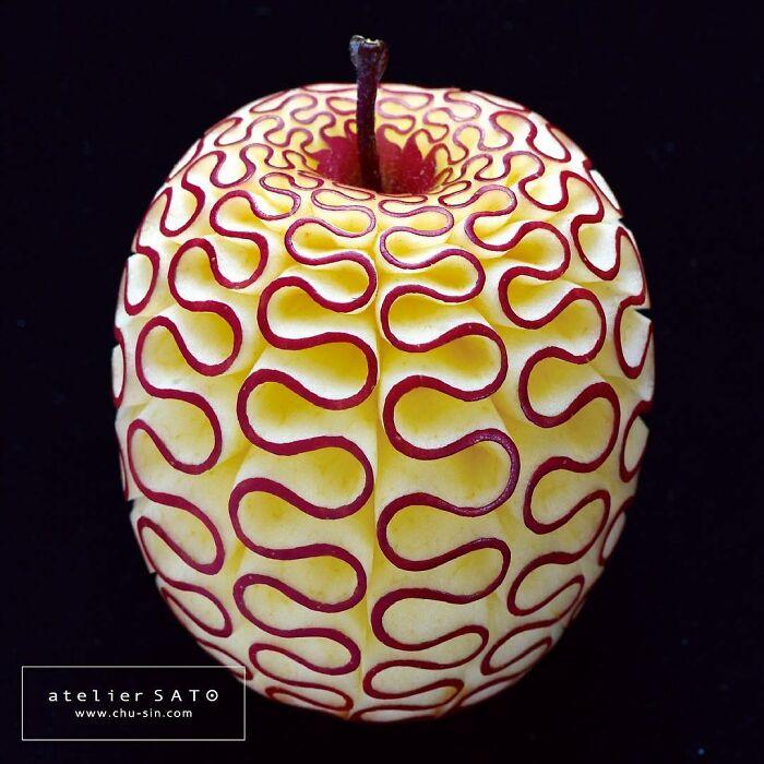 日本艺术家的精美食雕作品插图