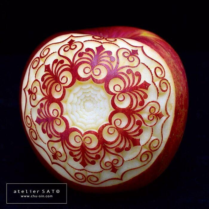 日本艺术家的精美食雕作品插图13