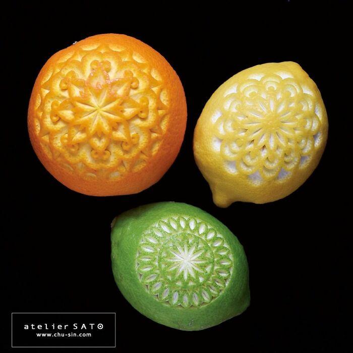 日本艺术家的精美食雕作品插图19
