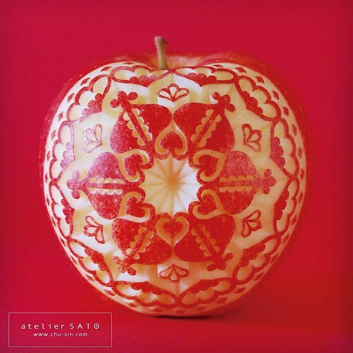 日本艺术家的精美食雕作品插图20