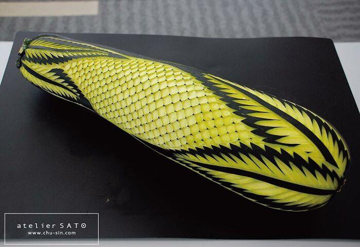 日本艺术家的精美食雕作品插图23