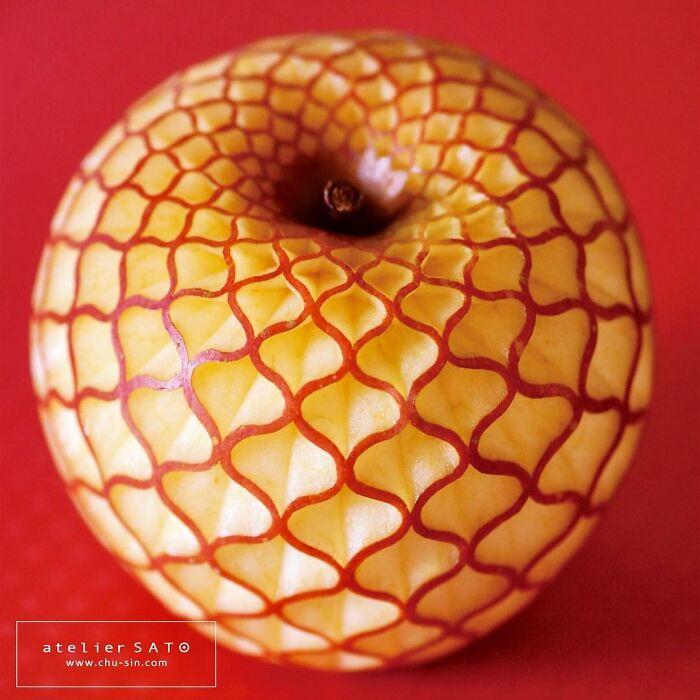 日本艺术家的精美食雕作品插图24