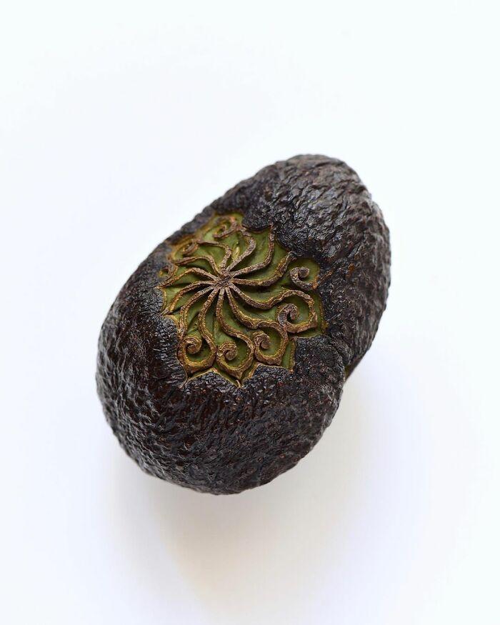 日本艺术家的精美食雕作品插图3