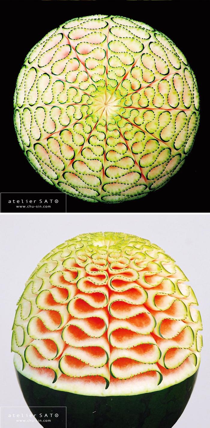日本艺术家的精美食雕作品插图8
