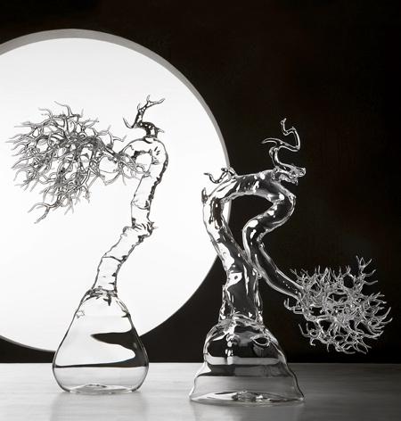 玻璃盆景插图