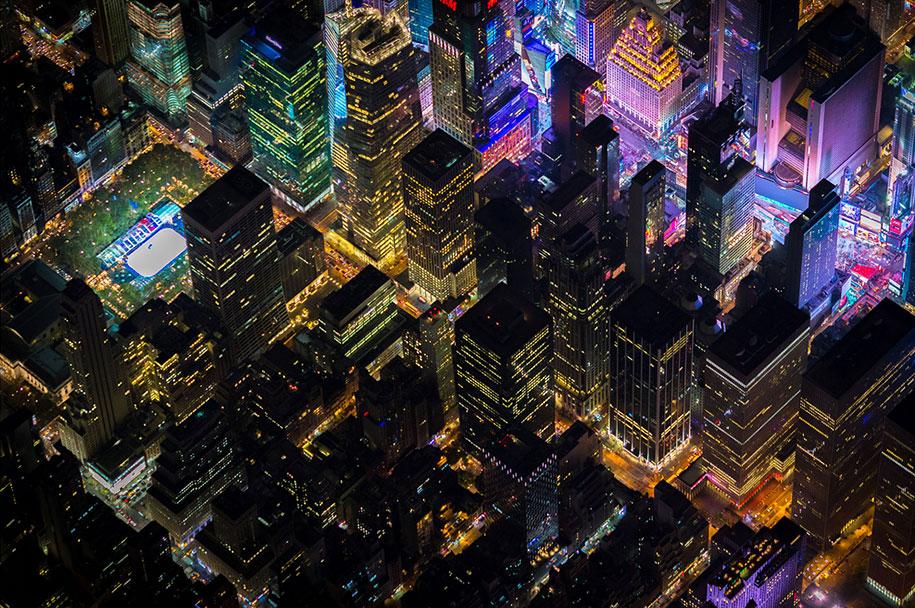 美丽的夜航摄影–纽约和拉斯维加斯插图9