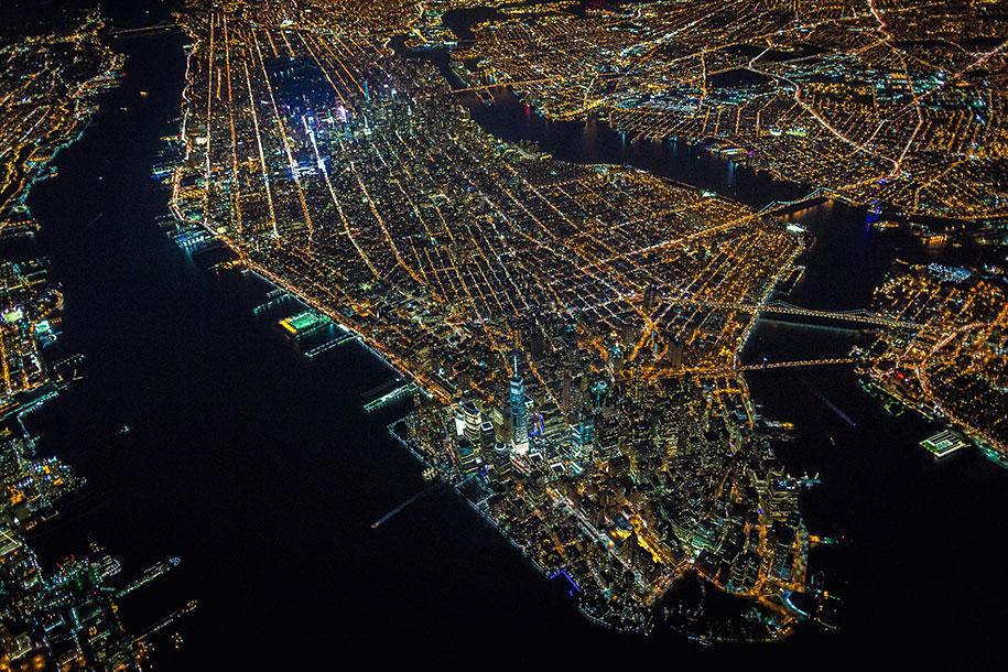 美丽的夜航摄影–纽约和拉斯维加斯插图2