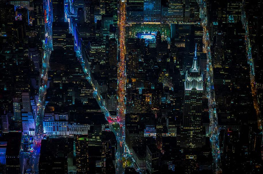 美丽的夜航摄影–纽约和拉斯维加斯插图4