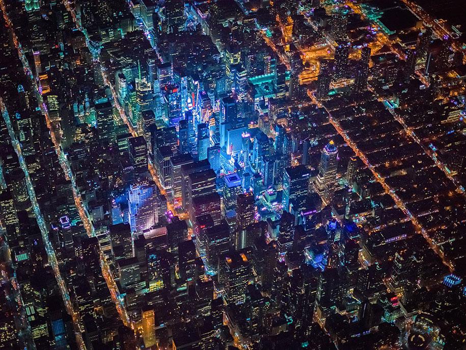 美丽的夜航摄影–纽约和拉斯维加斯插图6