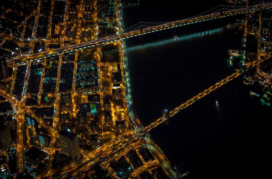 美丽的夜航摄影–纽约和拉斯维加斯插图7