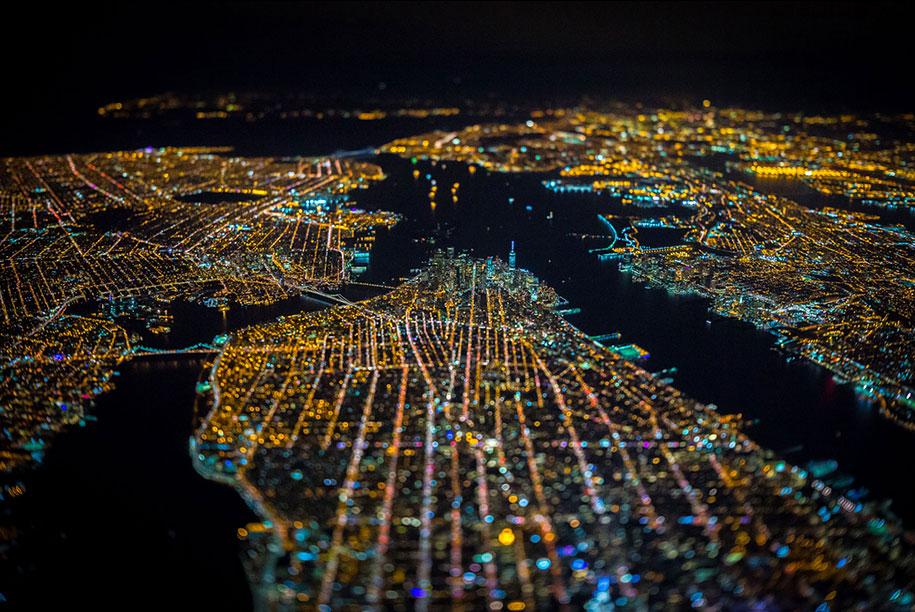 美丽的夜航摄影–纽约和拉斯维加斯插图8