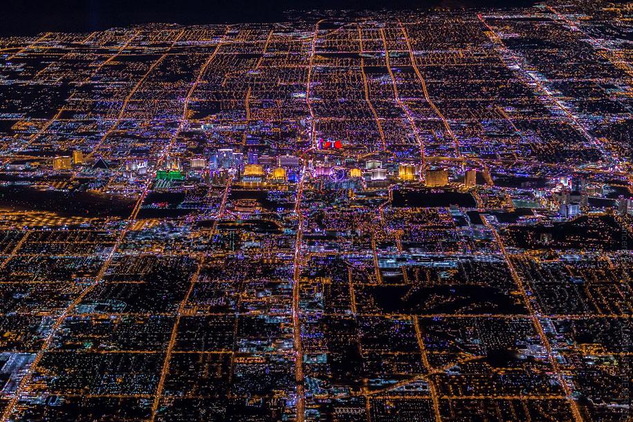 美丽的夜航摄影–纽约和拉斯维加斯插图10