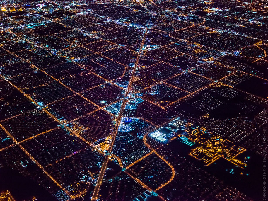 美丽的夜航摄影–纽约和拉斯维加斯插图12
