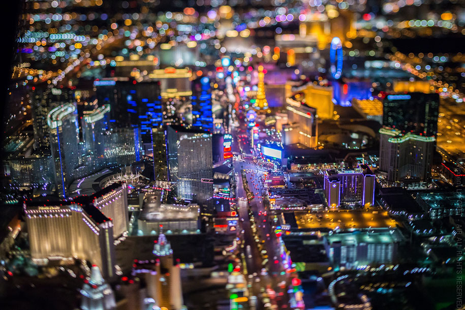 美丽的夜航摄影–纽约和拉斯维加斯插图14