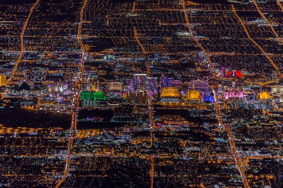 美丽的夜航摄影–纽约和拉斯维加斯插图18