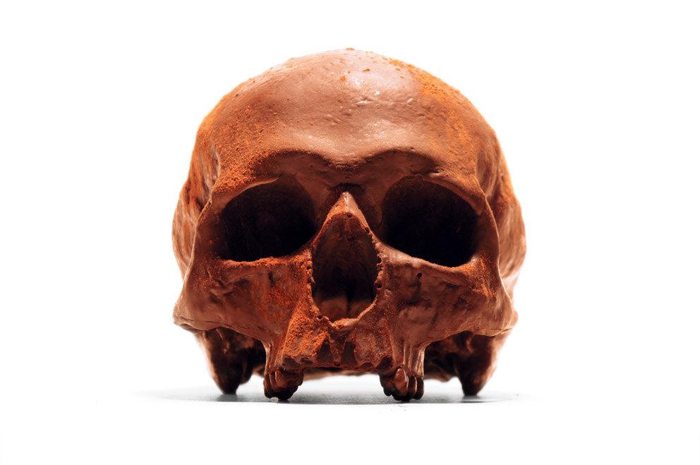 人类头骨巧克力缩略图