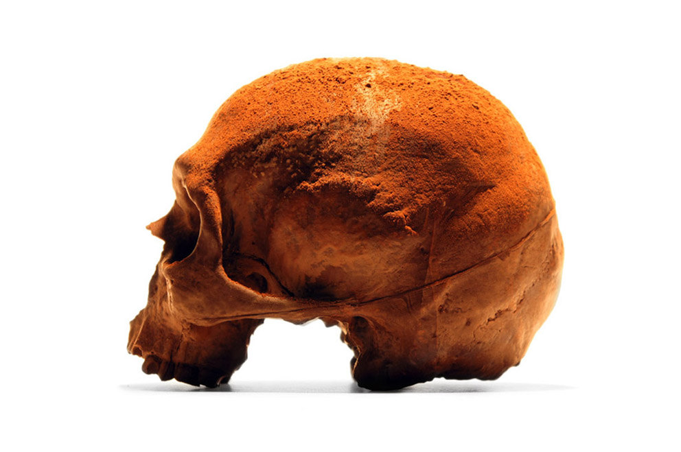 人类头骨巧克力插图2
